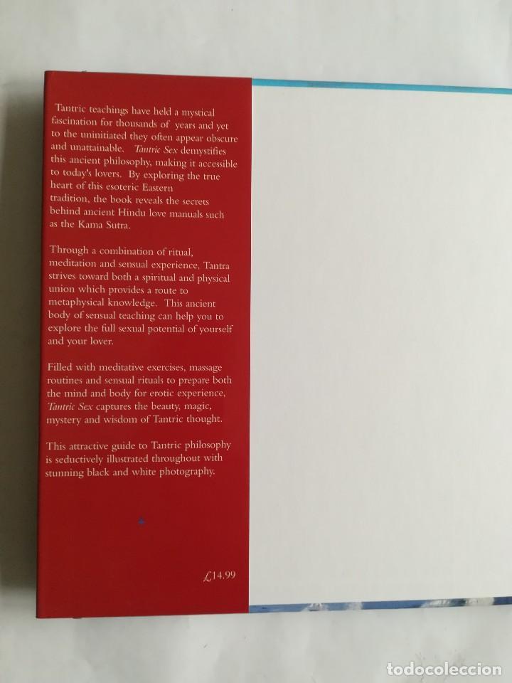 Libros: Tantric sex, a lover´s guide, en inglés, 1997. Sexo tántrico, un guía para los aficionados - Foto 2 - 117945571