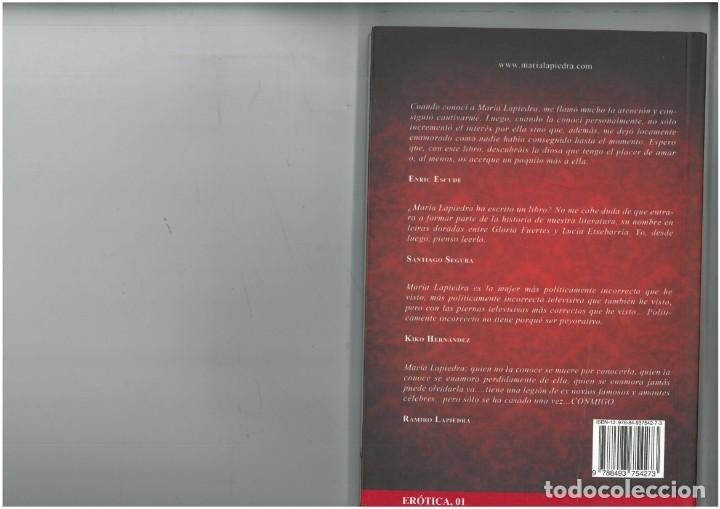 Libros: libro de maria lapiedra el follar te vuelve loco 1ª edicion - Foto 2 - 139596226