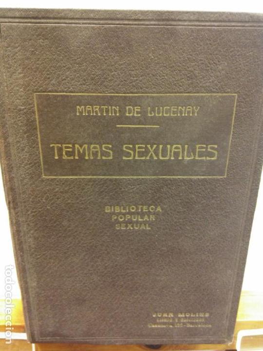 STQ.A MARTIN DE LUCENAY.TEMAS SEXUALES.TOMO V.EDT, FENIX.BRUMART TU LIBRERIA. (Libros Nuevos - Humanidades - Sexualidad)