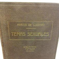 Livres: STQ.A MARTIN DE LUCENAY.TEMAS SEXUALES.TOMO V.EDT, FENIX... Lote 145569118
