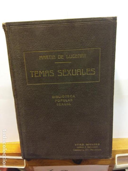 STQ.A MARTIN DE LUCENAY.TEMAS SEXUALES.TOMO VI.EDT, FENIX.BRUMART TU LIBRERIA. (Libros Nuevos - Humanidades - Sexualidad)