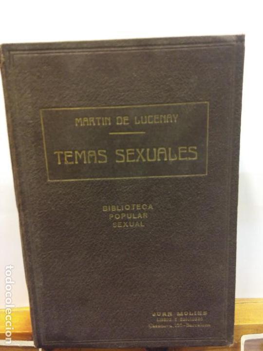 STQ.A MARTIN DE LUCENAY.TEMAS SEXUALES.TOMO VII.EDT, FENIX.BRUMART TU LIBRERIA. (Neue Bücher - Geisteswissenschaften - Sexualität)