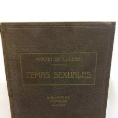 Livres: STQ.A MARTIN DE LUCENAY.TEMAS SEXUALES.TOMO IX.EDT, FENIX... Lote 145569494