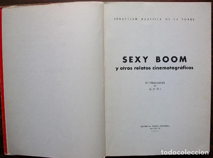 Libros: SEXY BOOM Y OTROS RELATOS CINEMATOGRAFICOS. SEBASTIAN BAUTISTA DE LA TORRE. - Foto 2 - 146787006