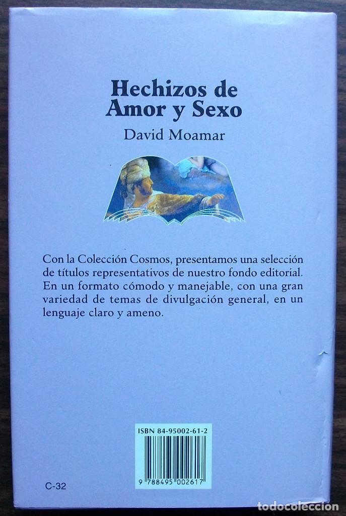 Libros: HECHIZOS DE AMOR Y SEXO. DAVID MOAMAR - Foto 3 - 173488344