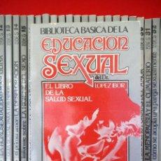 Libros: LOTE DE 40 EJEMPLARES DE LA EDUCACIÓN SEXUAL DEL DR. LOPEZ IBOR. Lote 169220724