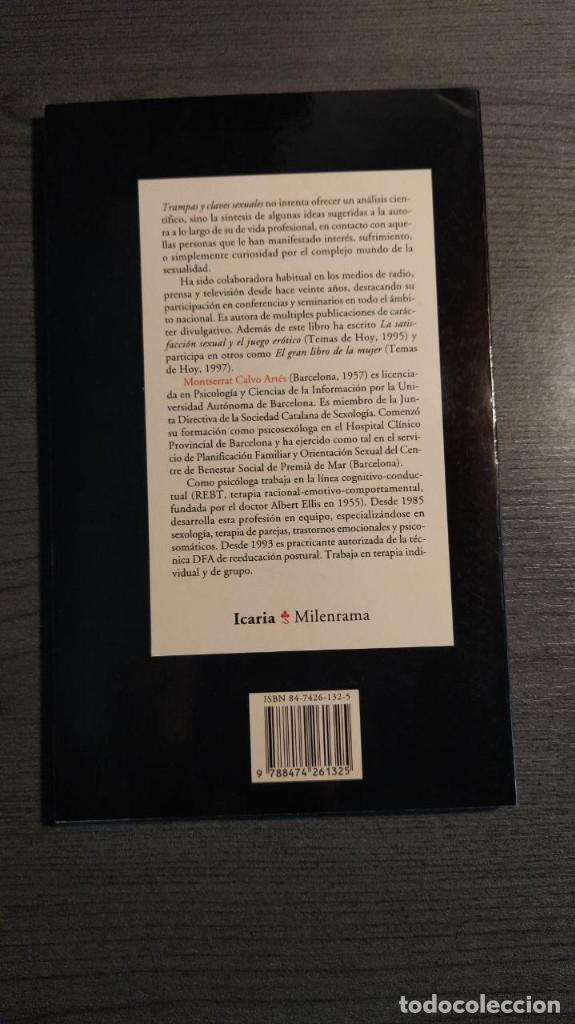 Libros: TRAMPAS Y CLAVES SEXUALES. MONTSERRAT CALVO. Icaria - Foto 5 - 178804560