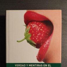 Libros: VERDAD Y MENTIRAS EN EL SEXO. EVA ROY EDICIONES B . Lote 189426968
