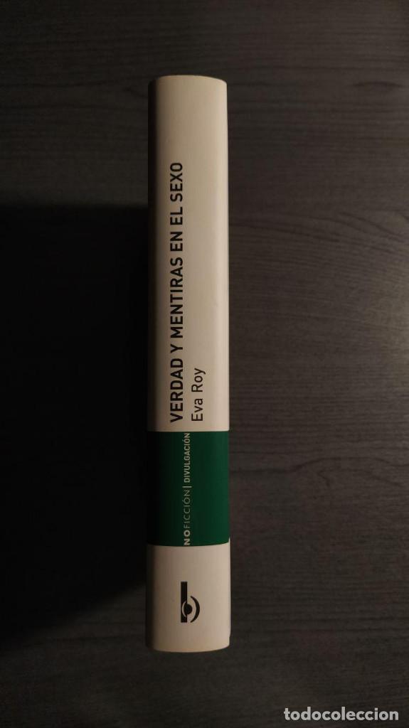 Libros: VERDAD Y MENTIRAS EN EL SEXO. EVA ROY EDICIONES B - Foto 5 - 189426968