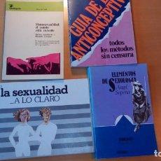 Libros: VARIOS LIBROS DE ENSAYO SOBRE SEXUALIDAD. Lote 196344112