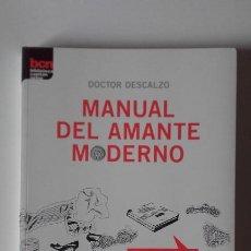 Libros: MANUAL DEL AMANTE MODERNO. DOCTOR DESCALZO. Lote 197068865