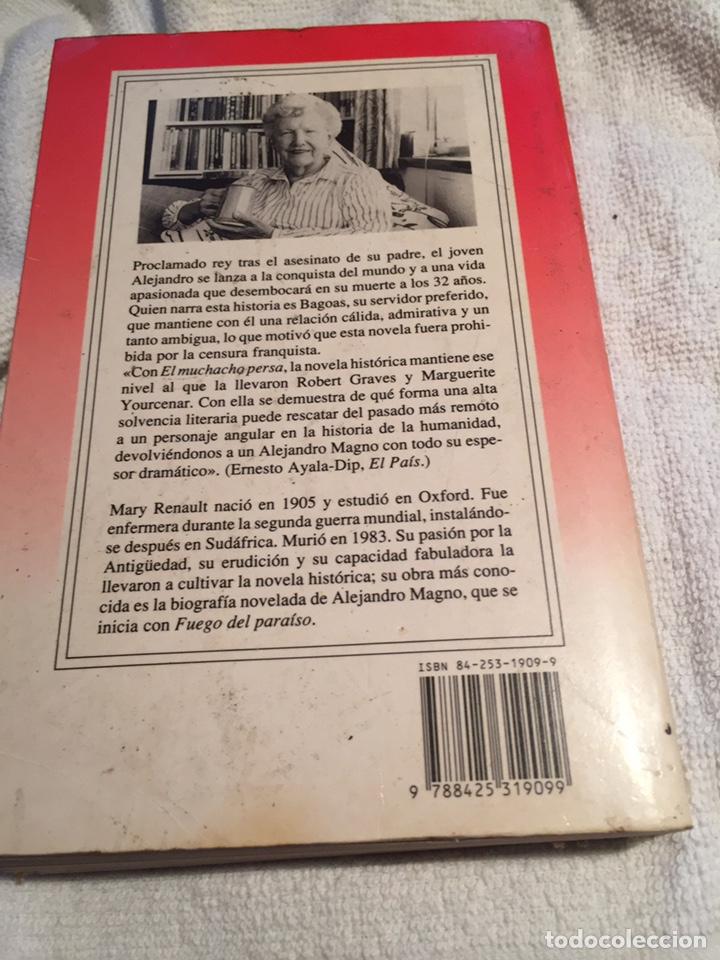 Libros: El muchacho persa mary renault - Foto 2 - 202031762