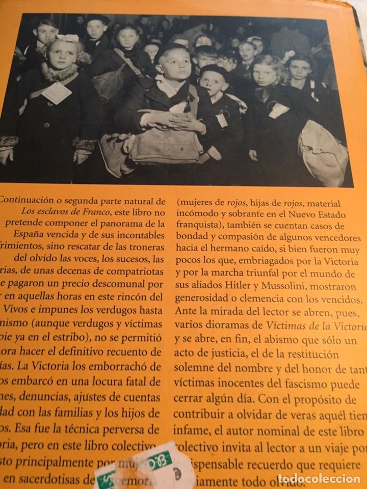 Libros: Victimas de la victoria Rafael torres - Foto 2 - 202034433