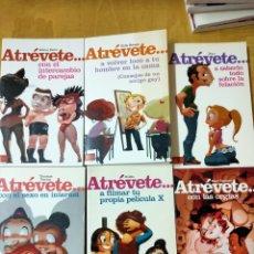 Libros: ATRÉVETE LIBROS SEXOLOGÍA. Lote 202425813