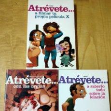 Libros: LIBROS ATRÉVETE SEXOLOGÍA. Lote 202426398