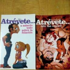 Libros: ATRÉVETE LIBROS SEXOLOGÍA. Lote 202426658