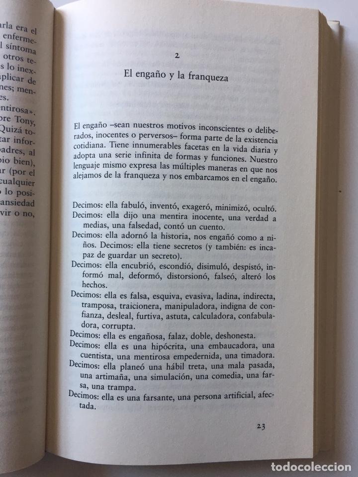 Libros: ¿Porqué fingimos las mujeres? Harriet G. Lerner Verdad y mentira en la vida de las mujeres 1995 - Foto 4 - 202827483