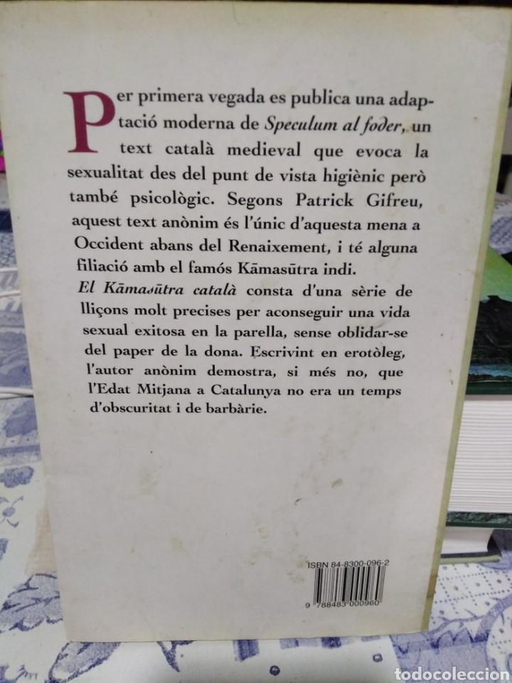 Libros: EL KAMASUTRA CATALA-MIRALL DEL FOTRE-ANONIM DEL SEGLE XIV,EDITA COLUMNA, 1996, - Foto 2 - 215586033