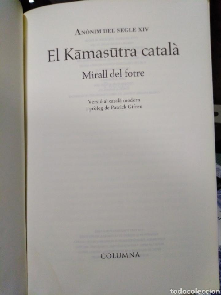 Libros: EL KAMASUTRA CATALA-MIRALL DEL FOTRE-ANONIM DEL SEGLE XIV,EDITA COLUMNA, 1996, - Foto 4 - 215586033