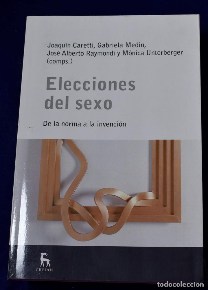 ELECCIONES DEL SEXO (ESCUELA LACANIANA) - CARETTI, JOAQUÍN (Libros Nuevos - Humanidades - Sexualidad)