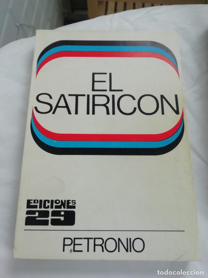 SATIRICON DE PETRONIO (Libros Nuevos - Humanidades - Sexualidad)