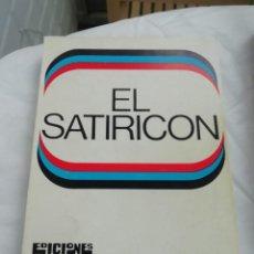 Libros: SATIRICON DE PETRONIO. Lote 222245490