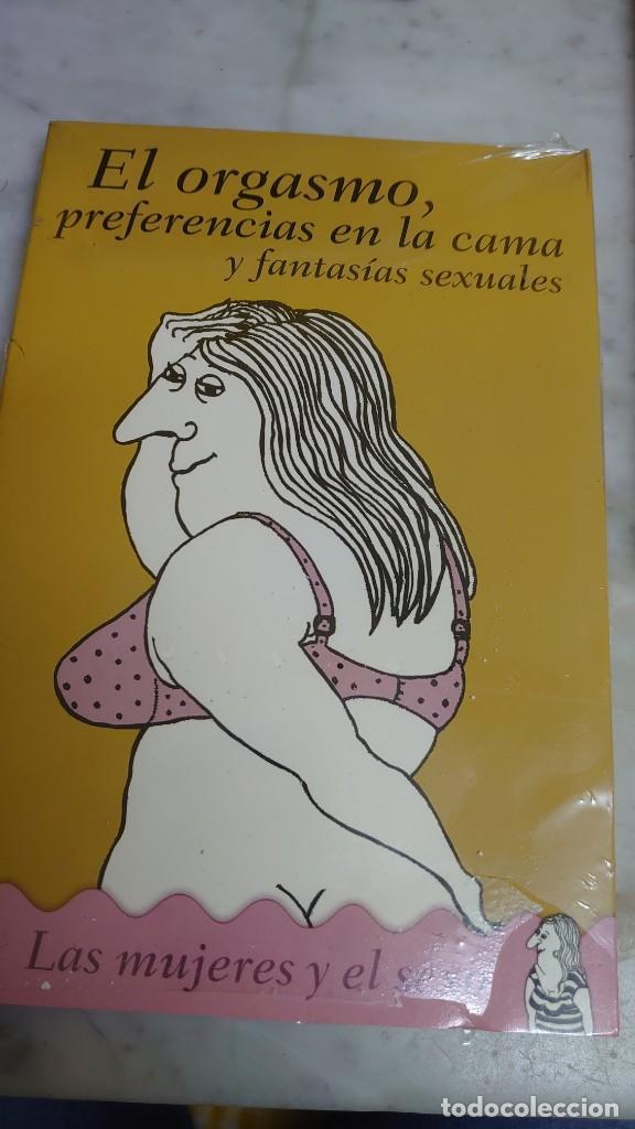 PRPM 42 PRECINTADO . LAS MUJERES Y EL SEXO 2. EL ORGASMO PREFERENCIAS EN LA CAMA Y FANTASÍAS (Libros Nuevos - Humanidades - Sexualidad)