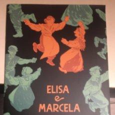 Libros: ELISA E MARCELA. XULIA VICENTE. IDIOMA: GALLEGO. Lote 228942300