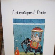 Libros: PHILIP RAWSON.L´ART EROTIQUE DE L´INDE. Lote 244021100