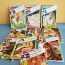 Libros: 10 VIDEO LIBRO EROTICOS. Lote 255511425