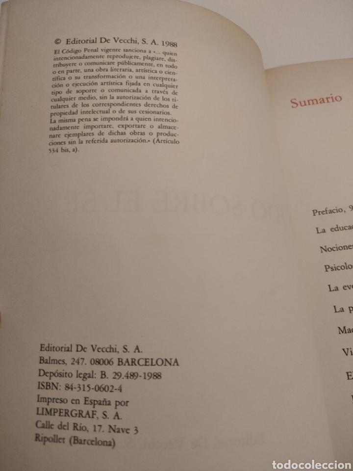 Libros: Todo sobre el sexo. Dr Fabio Valli. 1988. - Foto 4 - 261993240