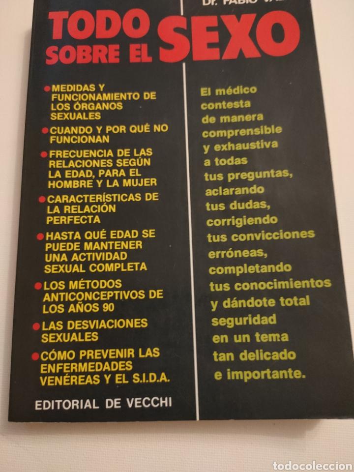 TODO SOBRE EL SEXO. DR FABIO VALLI. 1988. (Libros Nuevos - Humanidades - Sexualidad)