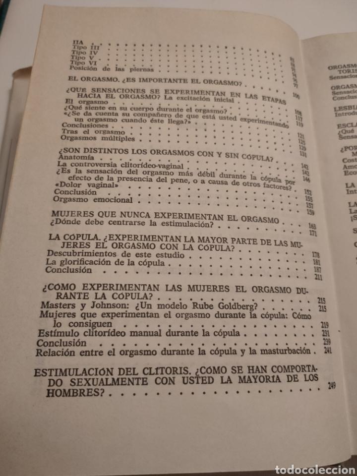 Libros: El informe Hite. Shere Hite. Primera edición 1977. - Foto 7 - 261993810