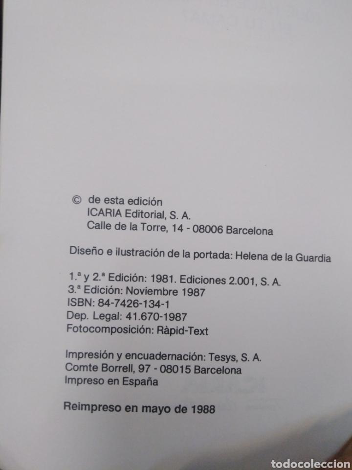 Libros: ¿QUE HACE EL PODER EN TU CAMA?JOSEP VICENT MARQUES-EDITA ICARIA 1987 - Foto 4 - 262906440