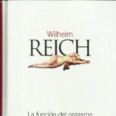Libros: LA FUNCIÓN DEL ORGASMO / WILHELM REICH.. Lote 274258658