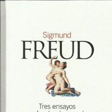 Libros: TRES ENSAYOS SOBRE TEORÍA SEXUAL / SIGMUND FREUD.. Lote 274260148