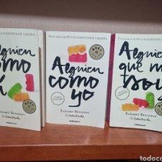 Libros: TRILOGÍA MI ELECCIÓN - ALGUIEN QUE NO SOY - ALGUIEN COMO YO - ALGUIEN COMO TÚ. Lote 291551123