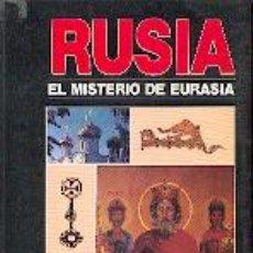 Libros: RUSIA EL MISTERIO DE EURASIA POR DUGUIN ALEXANDER GASTOS DE ENVIO GRATIS DUGIN. Lote 169284366
