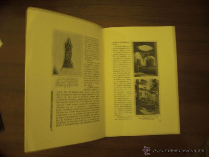 Libros: LA CASA DE ECONOMIA RURAL DE NUESTRA SEÑORA DE COGULLADA-ZARAGOZA 1955 - Foto 2 - 47992049