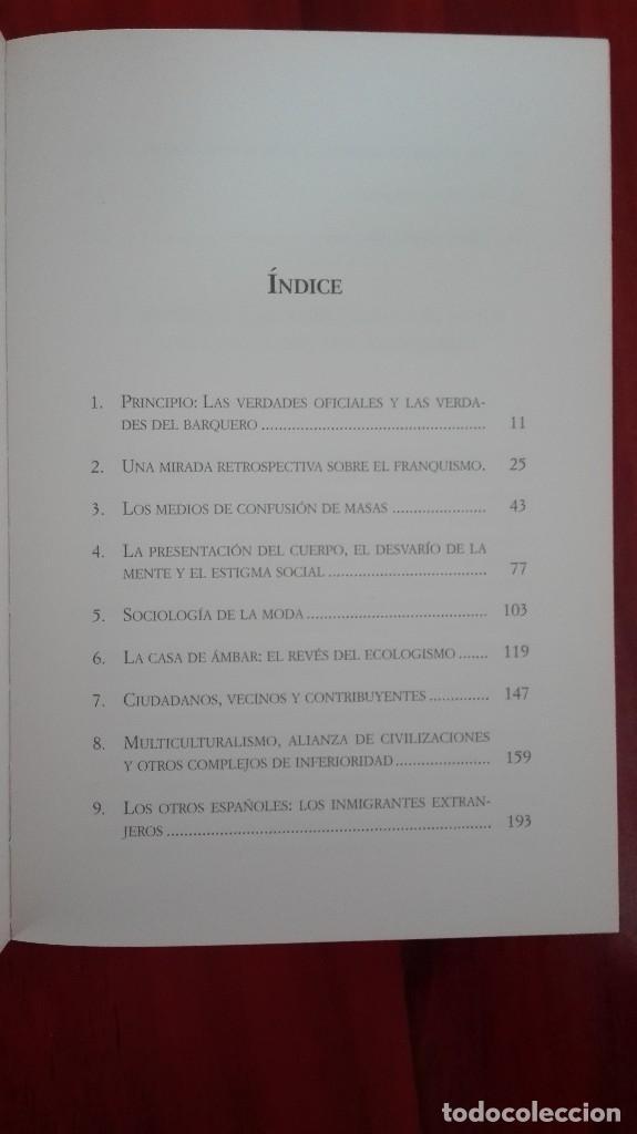 Libros: Escritos contra corriente Amando de Miguel - Foto 3 - 86101344