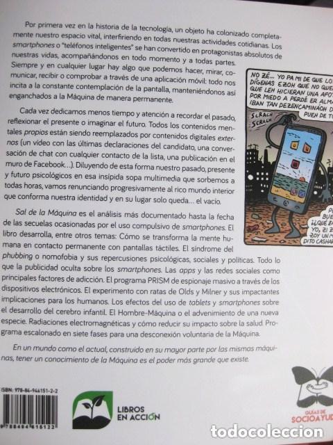 Libros: Sal de la Máquina: cómo superar la adicción a las nuevas tecnologías (Sergio Legaz, Miguel Brieva) - Foto 2 - 90707285