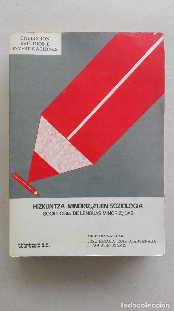 SOCIOLOGÍA DE LENGUAS MINORIZADAS (Libros Nuevos - Humanidades - Sociología)