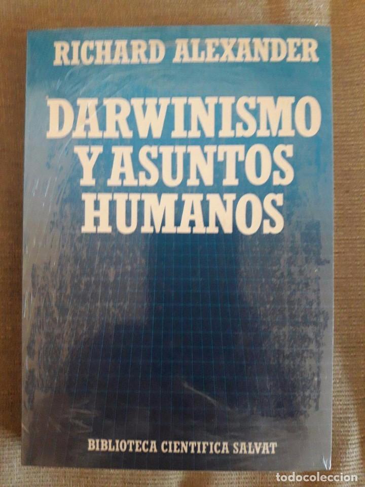 DARWINISMO Y ASUNTOS HUMANOS / Nº 75 / RICHARD ALEXANDER / BIBLIOTECA CIENTÍFICA SALVAT / PRECINTAD (Libros Nuevos - Humanidades - Sociología)