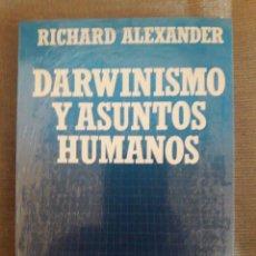 Libros: DARWINISMO Y ASUNTOS HUMANOS / Nº 75 / RICHARD ALEXANDER / BIBLIOTECA CIENTÍFICA SALVAT / PRECINTAD. Lote 92810275