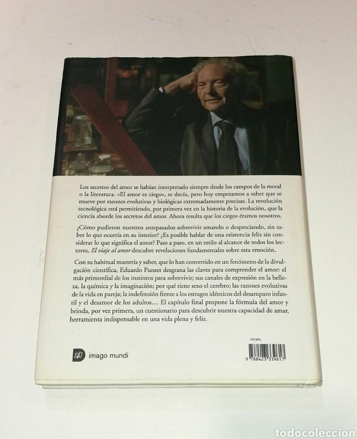 Libros: Libro El viaje al amor Eduardo Punset - Foto 2 - 99688735