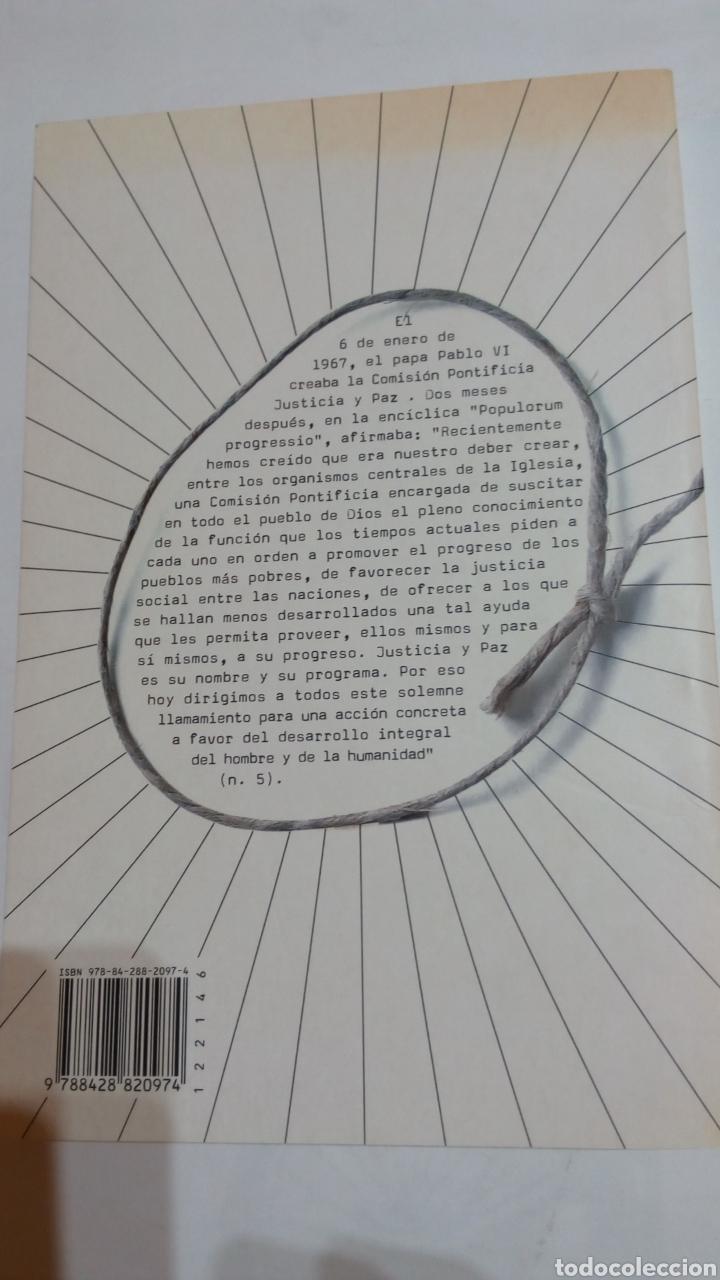 Libros: Libro 40 años de justicia y paz. Sin fronteras. PPC. N°11. Fundación SM - Foto 2 - 105217395