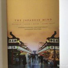 Libros: LA MENTALIDAD JAPONESA, TEXTO EN INGLÉS. Lote 124411840
