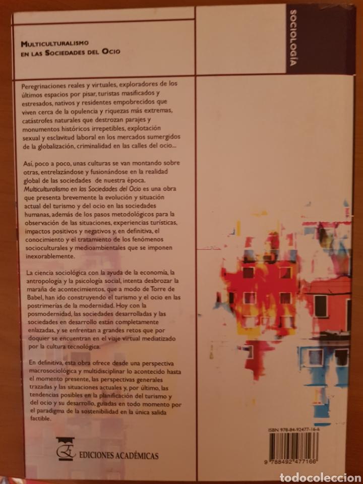 Libros: MULTICULTURALISMO EN LAS SOCIEDADES DEL OCIO - Foto 2 - 134118765