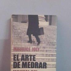 Libros: EL ARTE DE MEDRAR, MAURICE JOLY. Lote 136467926