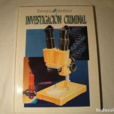 Libros: INVESTIGACIÓN CRIMINAL: ENFOQUE CIENTÍFICO. EDELVIVES. AUTOR: IAN GRAHAM. AÑO 1996. NUEVO.. Lote 140018802